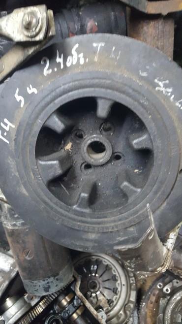 запчасти volkswagen transporter t4 в Кыргызстан: Volkswagen T4 шкив коленвала 2.4 двигатель дизель