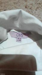 OVS  bela rolka pamucna. Velicina 10-11 odlicna za priredbe, za odevne - Pancevo