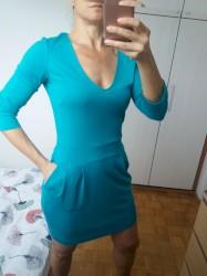 Sako-icine-intenzivne-boje-x - Srbija: Mango haljina veoma intenzivne tirkiz boje koja se nikako ne može