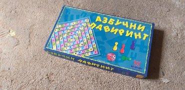 Na prodaju drustvena igra Azbucni lavirint u odlicnom stanju, kao nov