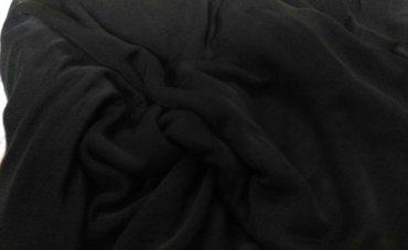 Ткань черная трикотин масло стуящийся в Бишкек