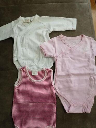 Paket za devojčicu novorođenče 56/62 veličina, cena 2000 rsd.Sve je