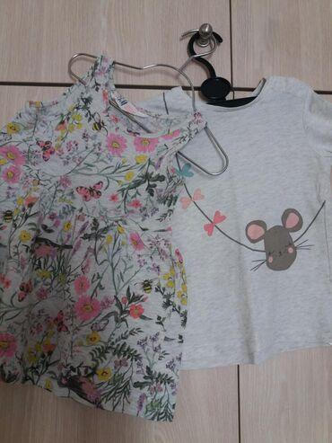 Παιδικά αντικείμενα - Ελλαδα: Σετ H&m φορεμα και μπλουζα βαμβακι 100% ν.92, 1,5-2 ετων