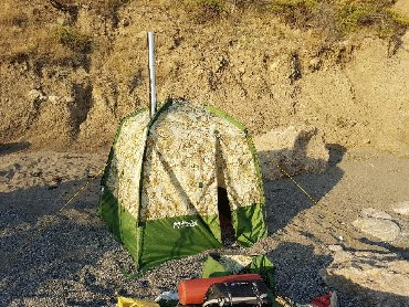 печка для бани в Кыргызстан: Кайфандра - Мобильная баня!Компактная и легкая ранцевая баня Мобиба