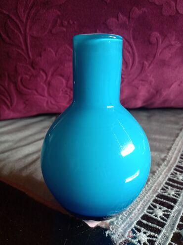 Vazica nova Fidrio puno staklo holandska. Visina. 10,5cm