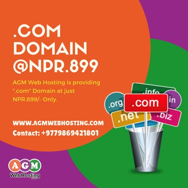 Top Domain Registration in Nepal - AGM Web Hosting in Kathmandu