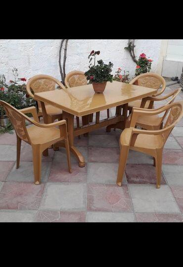 heyet evleri villalar - Azərbaycan: Heyet evleri ucun stol stul 135 man. Bakuya sumqayita catdirilma var