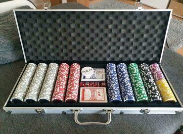 Poker!Покер!Профессиональный набор для игры в покер в алюминиевом