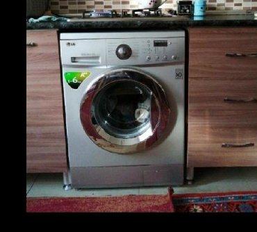 стиральная машина с вертикальной загрузкой в Азербайджан: Вертикальная Автоматическая Стиральная Машина LG 8 кг