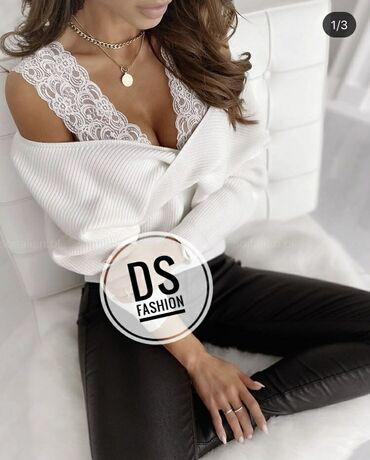 Bluza dostupna u crnoj i beloj boji ✔