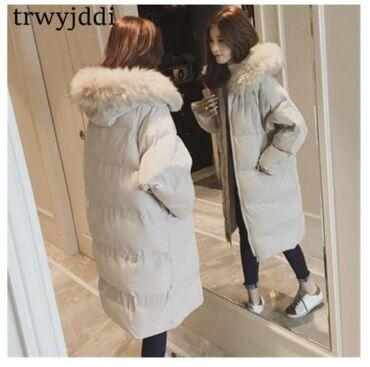 Зимняя куртка oversize, на обмен 4тыс