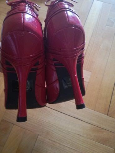 Nove crvene lakovane sandale. UG 26. - Bajina Basta