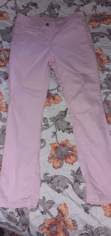 Продам б/у лосины,спортивные штаны, джинсы розовые Турция футболка н
