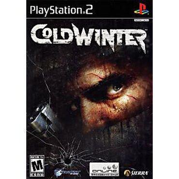 COLD WINTER PS2 üçün. Playstation 2 ye aid istenilen oyun var butun