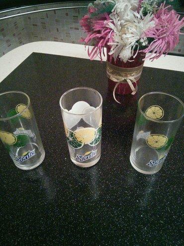 Xırdalan şəhərində 3 штуки новые стакана,цена за все