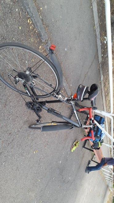 Шоссейный велосипед в суперском состоянии!!! Dual-shifter. собирал для в Бишкек