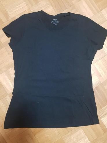 Majica pamucna xl - Srbija: Crna majica kao nova, pamucna, kupljena u Becu, velicina L-Xl