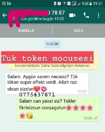 tuk token krem - Azərbaycan: Tuk token toz 10 azn 1aya cixir tuklerTuktokentoz lazere son1aya gec
