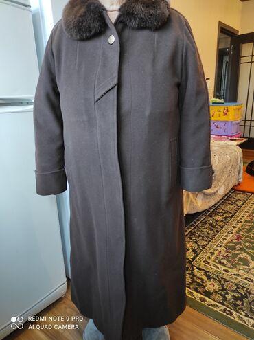 пальто женское зимнее бишкек в Кыргызстан: Пальто, женское, настоящий кашемир, очень лёгкий и очень тёплый