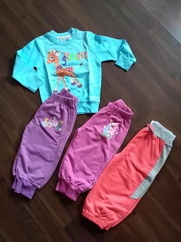 Dečija odeća i obuća   Ruma: Komplet garderobe za devojčicu. Veličina 1