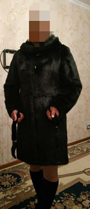 шубы норковые в Кыргызстан: Продаю цельное норковое шубы. почти новая. ЦЕНА : 900$