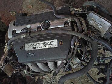 Продаю мотор Хонда срв2 2003 г. Рабочий мотор к20а. Форсунки и катушки