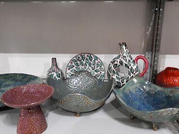 184 объявлений: Посуда и предметы интерьера из керамики ручной работы