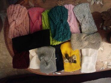 Pleteni prslici - Srbija: Prodaja pletenih traka za kosu svih boja jedna 500 din za dve ili vise
