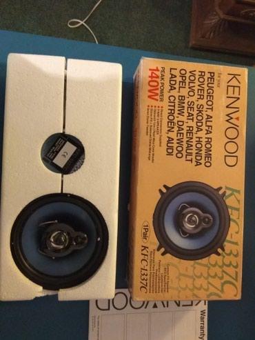 Kenwood radio sa dva para zvucnika, 2x70 i 2x45 wat. Potpuno novo u - Beograd