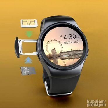 Pantalone flame moderno - Srbija: KW18 Smart Android / IOS Smart Watch /Bluetooth/ Sim karticaCena