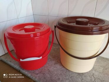 Ведра - Кыргызстан: Новые ведра 10 литров 300 с,15 литров 350 сом