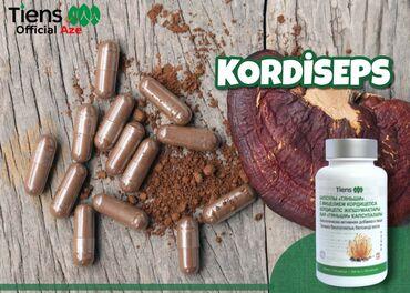 KORDİSEPS---(Cordyceps Capsules)TƏRKİBİ:✔Alman biotexnologiyası ilə