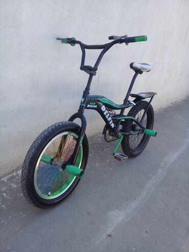 Bmx velosipedi20lik velosipeddir.Üzərində zapças və telofon qoyan və