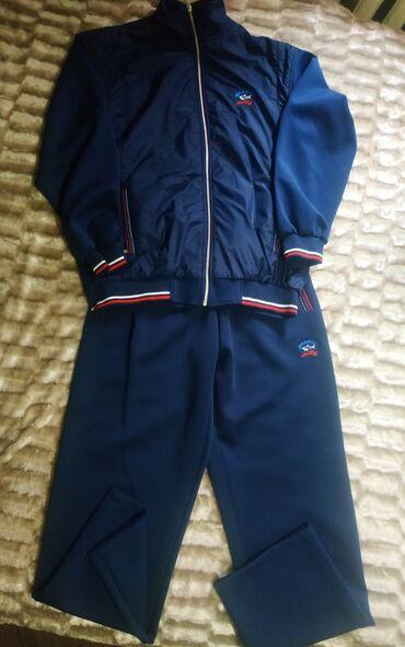 Мужской, новый костюм-тройка, размер 60