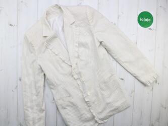 Женский пиджак с оборками     Длина: 67 см Рукав: 59 см Пог: 40 см Пот