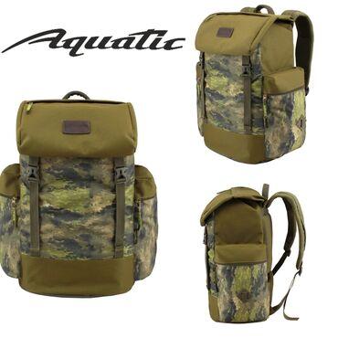 Рюкзаки в Кыргызстан: Непромокаемый рюкзак Aquatic объёмом 50 литров. Рюкзак имеет дно из