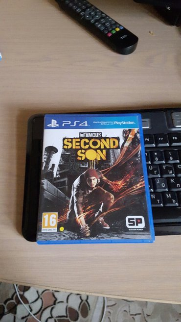 Infamous second son игра на ps4 в Бишкек