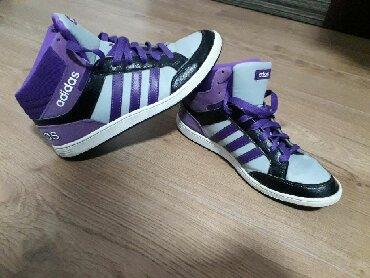 Ženska patike i atletske cipele | Kragujevac: Adidas original patike 38 i 2/3, kratko nosene, kao nove