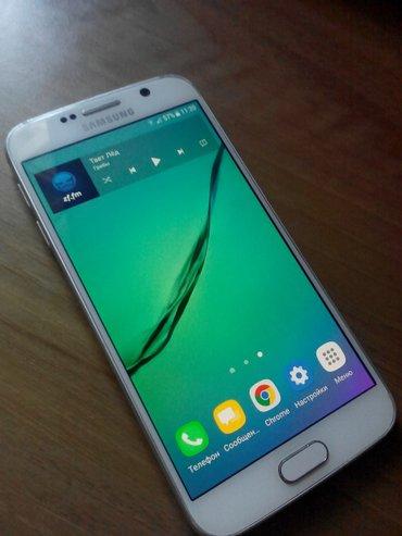 Samsung S6. G920F. состояние хорошее, работает в Бишкек