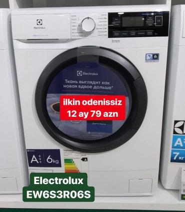 Meyrin şəhərində Öndən Avtomat Washing Machine Electrolux 6 kq.