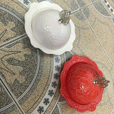 Bakı şəhərində Lokum qabi keramika 18 azn. catdirilma var