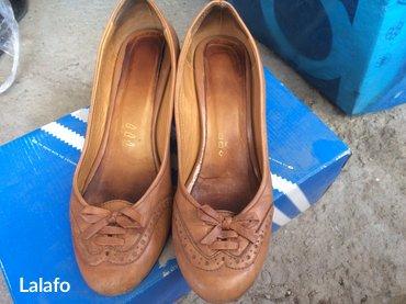 Туфли кожа, размер 36-36. 5, состояние хорошее. Покупала за 3000с в Кок-Ой