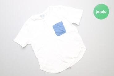 Топы и рубашки - Синий - Киев: Дитяча футболка з блакитною кишенькою Cos, вік 4-6 р., зріст 110-116 с