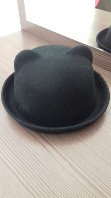 Кашемировая зимняя шляпа почти новая. в Лебединовка