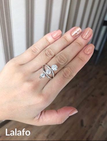 Продаю очень нежное кольцо,серебро 925,размер 17 в Бишкек