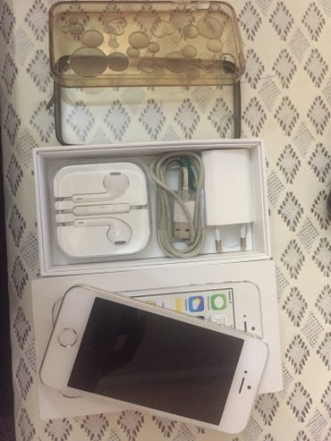 Iphone 5s 16gb комплект полный (коробка, в Бишкек