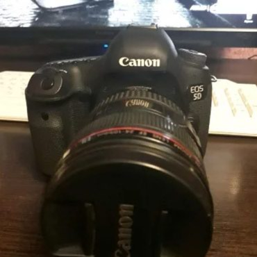 Canon eos 5D mark 3+EF 24-105mm f4 İS USM 2 ci versiya+fotosumka+3 в Xaçmaz