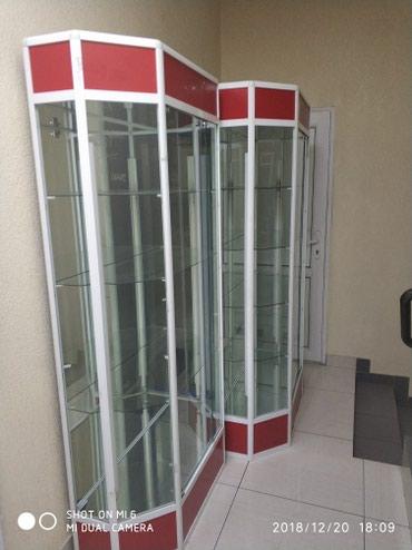 Продаю стеклянные витрины. 4 штуки. в Бишкек