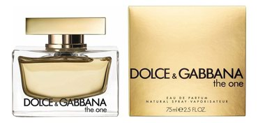 Духи D&G оригинал the one 75ml в Бишкек
