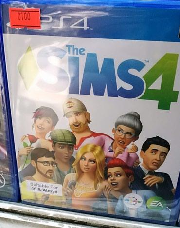 Bakı şəhərində Ps4 ucun The Sims 4 oyunu bagli upokovkada orginal
